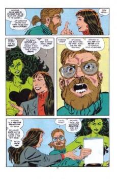 Extrait de Sensational She-Hulk (The) (1989) -50- He's dead?!