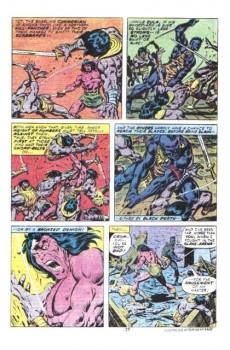Extrait de Conan the Barbarian Vol 1 (Marvel - 1970) -84- Two against the hawk-city!