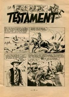 Extrait de Tex Bill -92- Le faux testament