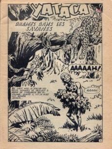 Extrait de Yataca (Fils-du-Soleil) -109- Drames dans les savanes