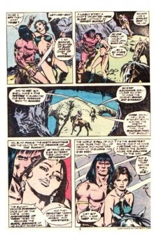 Extrait de Conan the Barbarian Vol 1 (Marvel - 1970) -87- Demons at the summit!