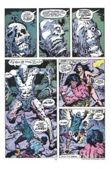 Extrait de Conan the Barbarian Vol 1 (Marvel - 1970) -90- The diadem of the giant-kings!