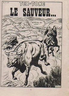Extrait de Tex-Tone -474- Le Sauveur...