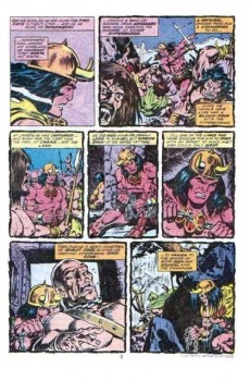 Extrait de Conan the Barbarian Vol 1 (Marvel - 1970) -92- The thing in the crypt!