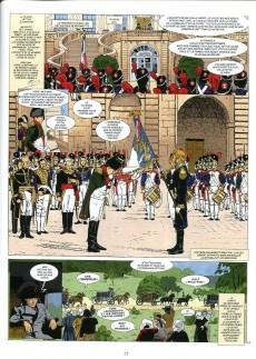 Extrait de Jacques Martin présente -7- Napoléon Bonaparte - Tome 4