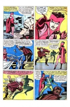 Extrait de X-Men Vol.1 (The Uncanny) (Marvel comics - 1963) -4- The brotherhood of evil mutants!