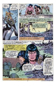 Extrait de Conan the Barbarian Vol 1 (Marvel - 1970) -94- The beast-king of Abombi!