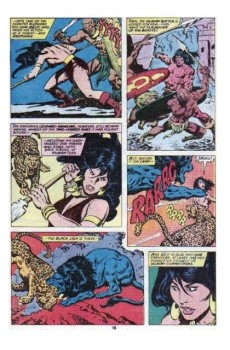 Extrait de Conan the Barbarian Vol 1 (Marvel - 1970) -97- The long night of fang and talon! part two
