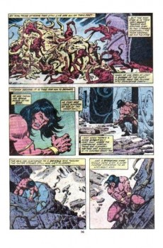 Extrait de Conan the Barbarian Vol 1 (Marvel - 1970) -105- Whispering shadows!