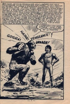 Extrait de King Kong (Occident) -10- Le singe robot contre Goliath