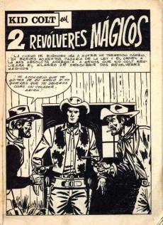 Extrait de Kid Colt (Ediciones Vértice - 1971) -9- Dos Revólveres mágicos