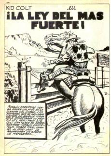 Extrait de Kid Colt (Ediciones Vértice - 1971) -1- ¡Llega Kid Colt!