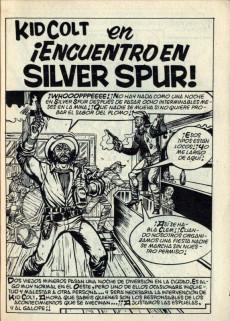 Extrait de Kid Colt (Ediciones Vértice - 1971) -2- La ley del mas fuerte