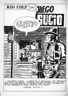 Extrait de Kid Colt (Ediciones Vértice - 1971) -4- Juego sucio