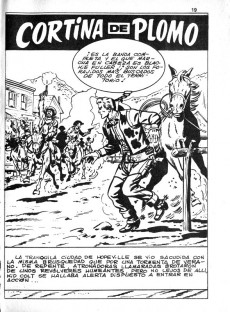 Extrait de Kid Colt (Ediciones Vértice - 1971) -5- !Sheriff y periodista!