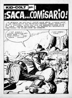 Extrait de Kid Colt (Ediciones Vértice - 1971) -7- ¡Saca... comisario!
