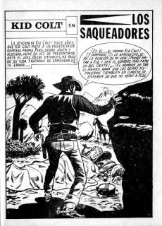 Extrait de Kid Colt (Ediciones Vértice - 1971) -8- Los saqueadores