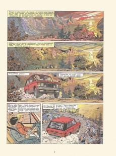 Extrait de Lefranc -6a1980- Opération thor