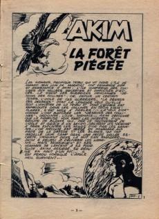 Extrait de Akim (1re série) -127- La forêt piégée