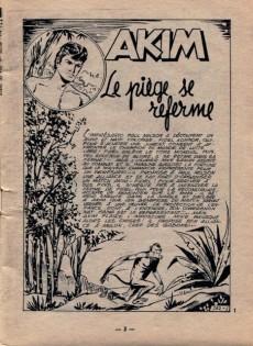 Extrait de Akim (1re série) -132- Le piège se referme