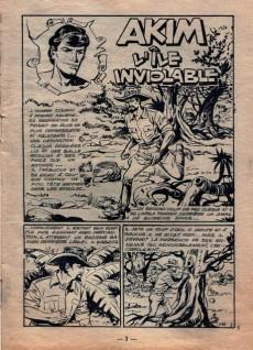 Extrait de Akim (1re série) -148- L'île inviolable