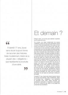 Extrait de (AUT) Van Hamme - Mémoires d'écriture