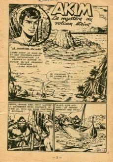 Extrait de Akim (1re série) -167- Le mystère du volcan éteint