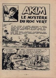 Extrait de Akim (1re série) -177- Le mystère du Roc Vert