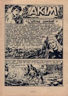 Extrait de Akim (1re série) -187- L'ultime combat