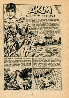 Extrait de Akim (1re série) -188- La vallée du silence