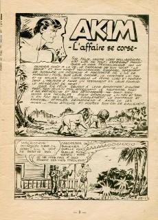 Extrait de Akim (1re série) -191- L'affaire se corse