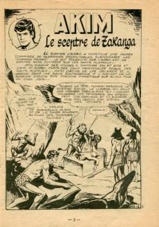 Extrait de Akim (1re série) -210- Le sceptre de Zaranga