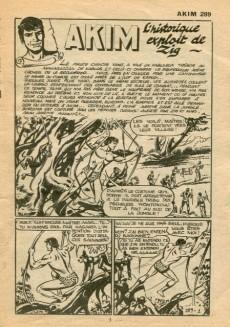 Extrait de Akim (1re série) -289- L'historique exploit de Zig