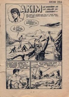 Extrait de Akim (1re série) -294- Le mystère de la vallée du couchant