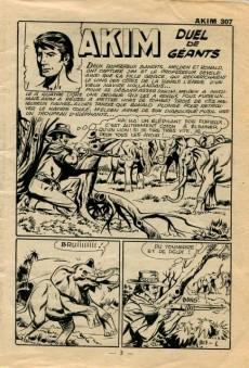 Extrait de Akim (1re série) -307- Duel de géants