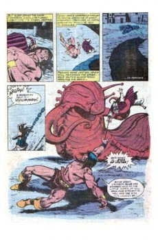 Extrait de Conan the Barbarian Vol 1 (Marvel - 1970) -116- Crawler in the mist!