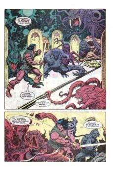 Extrait de Conan the Barbarian Vol 1 (Marvel - 1970) -117- The corridor of Mullah-Kajar