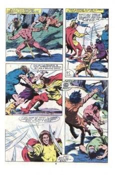 Extrait de Conan the Barbarian Vol 1 (Marvel - 1970) -120- The hand of Erlik!