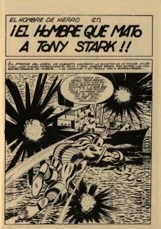 Extrait de Hombre de Hierro (El) (Iron Man) Vol. 1 -12- El hombre que mató a Tony Stark
