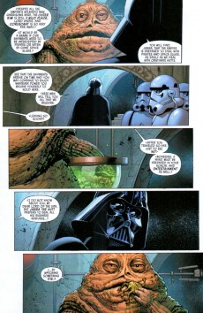 Extrait de Star Wars Vol.2 (Marvel comics - 2015) -4- Book I, Part IV Skywalker Strikes