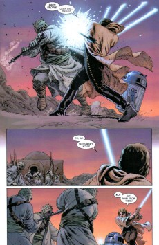 Extrait de Star Wars Vol.2 (Marvel comics - 2015) -5- Book I, Part V Skywalker Strikes