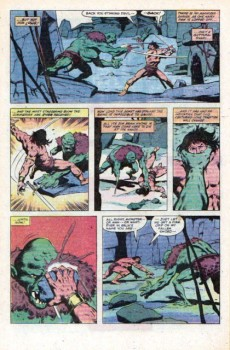 Extrait de Conan the Barbarian Vol 1 (Marvel - 1970) -126- The blood red eye of truth!