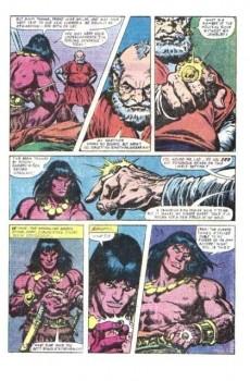 Extrait de Conan the Barbarian Vol 1 (Marvel - 1970) -131- The ring of Rhax