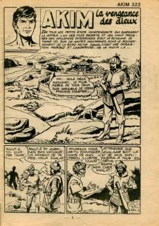 Extrait de Akim (1re série) -322- La vengeance des dieux