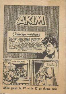 Extrait de Akim (1re série) -70- L'enveloppe mystérieuse