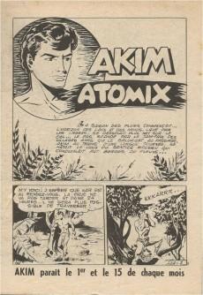 Extrait de Akim (1re série) -114- Atomix