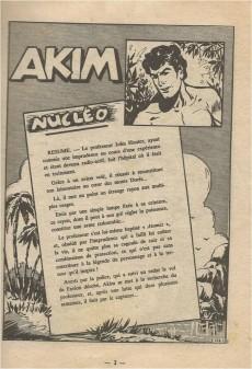 Extrait de Akim (1re série) -116- Nucléo