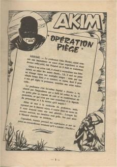Extrait de Akim (1re série) -117- Opération piège