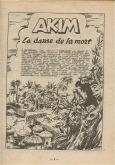 Extrait de Akim (1re série) -131- La danse de la mort