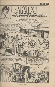 Extrait de Akim (1re série) -356- Une certaine Sonia Ascot